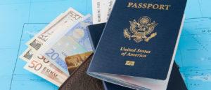 Passport Map and Money