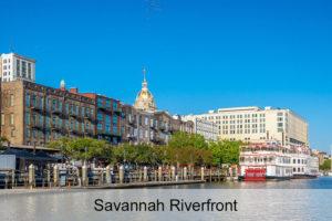 Savannah GA Riverfront