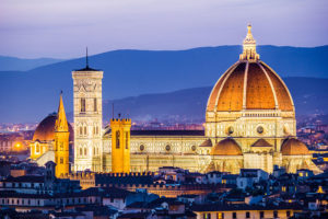 Cathedral And Brunelleschi Dome