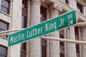 MLK Jr. Street Sign