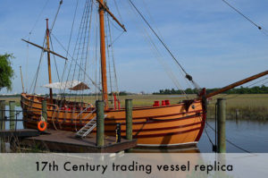 17th Century Trading Vessel Replica
